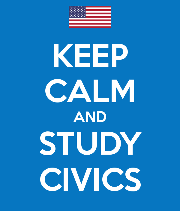 Keep Calm and Study Civics