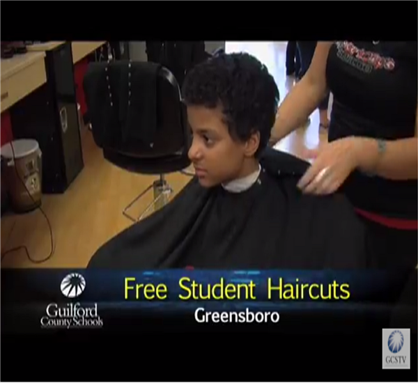 GCS Offers Free Student Haircuts