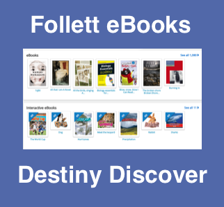 Follett ebooks Destiny Discover