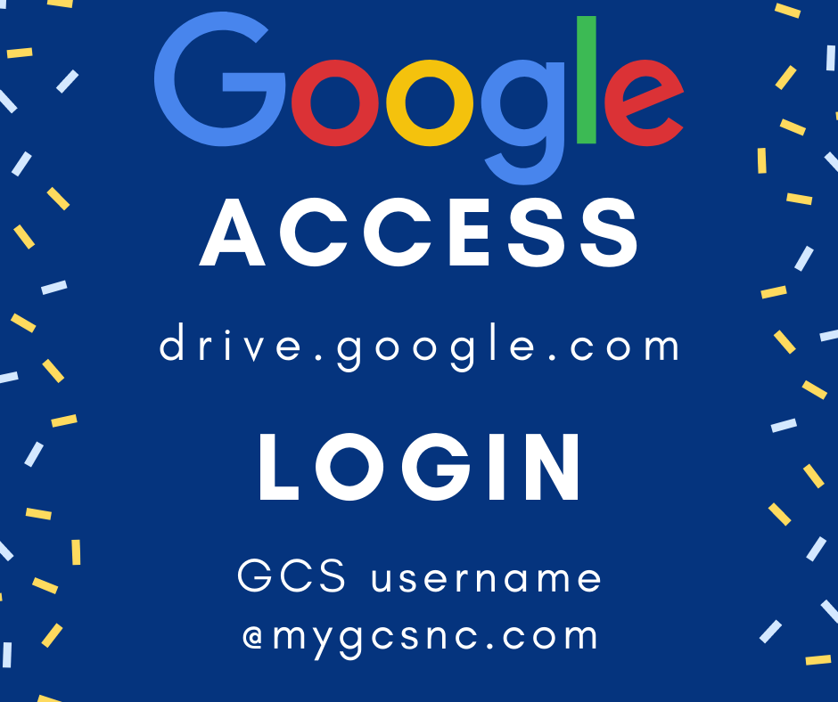 All GCS students have Google Drive.  Go to drive.google.com; then type GCS username@mygcsnc.com   You're in!
