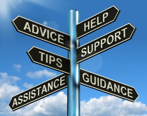 advice help tips support assistance guidance