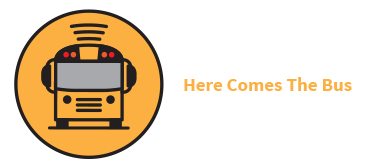 Here Comes the Bus App logo