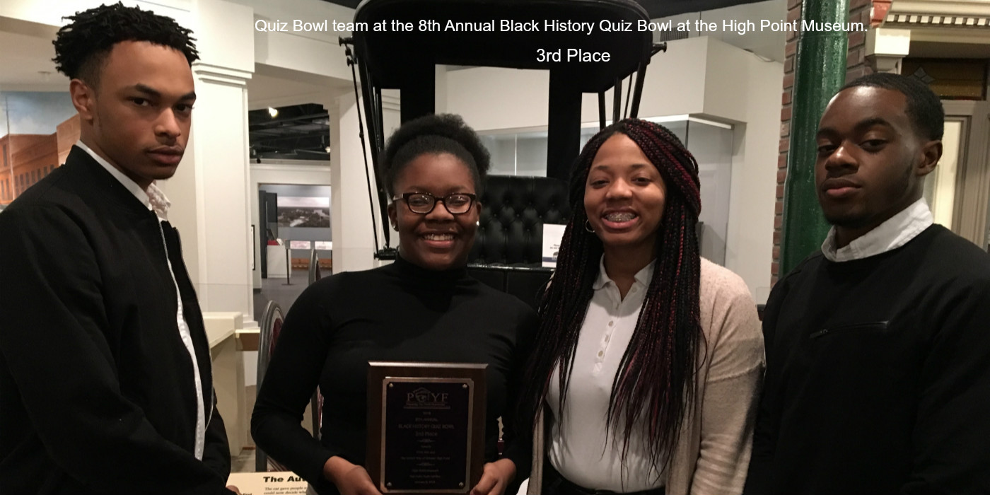 Southwest guilford high school homepage spotlight breakfast award winners quiz bowl team at the 8th annual black history quiz bowl at the high point museum fandeluxe Image collections