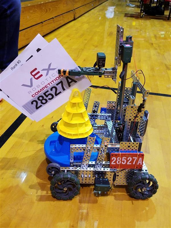 Robotics Club 2017 2018 Vex Robotics Competition In The Zone